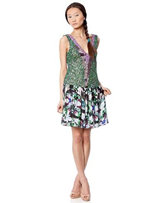 Custo Vestido Courty Us (Multicolor)