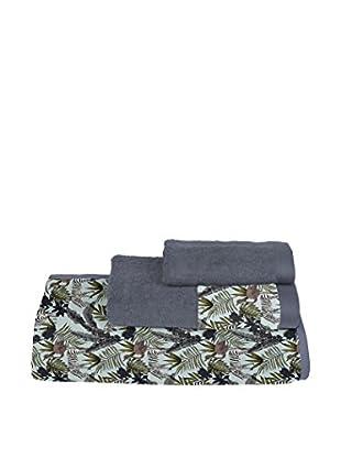 Surdic Handtuch 3 tlg. Set Zebra