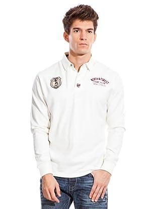 Springfield Rugbyshirt (Weiß)