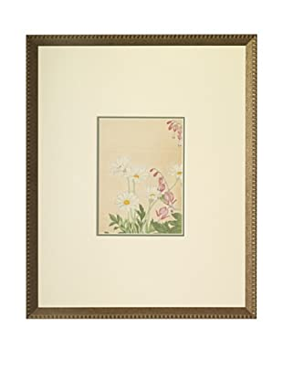 1918 Botanical Japanese Woodblock