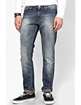 Blue Skinny Fit Jeans FREECULTR