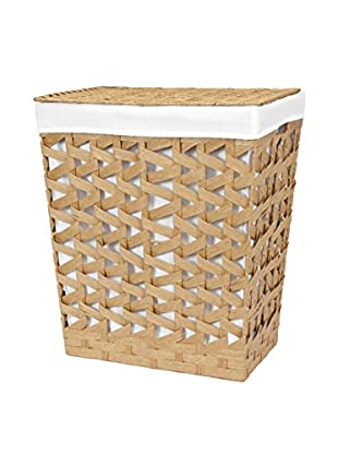 Creative Bath Crossways Hamper, Oak