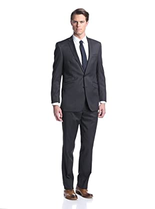Ben Sherman Men's Pinstripe Suit (Charcoal)