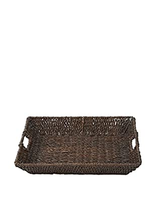 Woodard & Charles Rectangular Tray, Brown