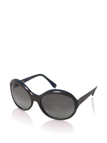 MARNI Women's MA095S Sunglasses, Green/Turquoise