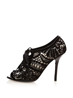 Dolce & Gabbana Zapatos Crochet (Negro)
