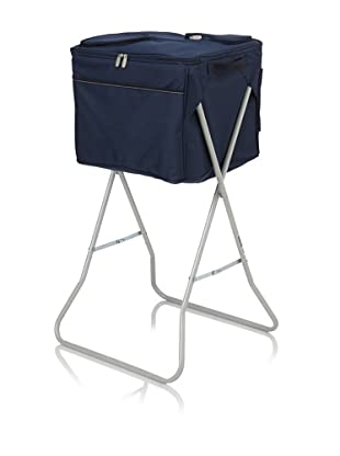Picnic Time Party Cube Portable Cooler (Navy)