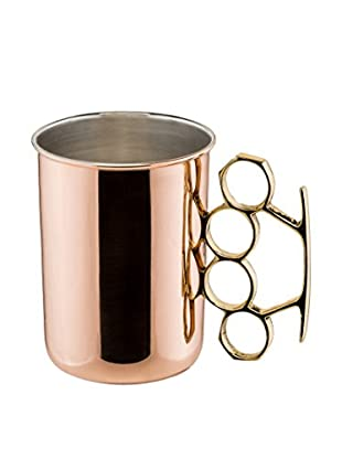 Old Dutch International Brass Knuckle 20-Oz. Copper Moscow Mule Mug, Copper