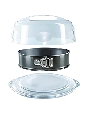 Jenaer Glas Springform Pan with Cover, Clear/Black