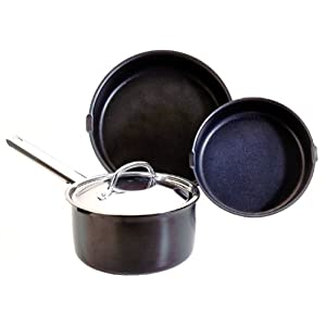 Nordic Ware 4-Piece Removable Handle Cook Set