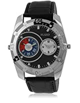 Fl-116-Bk01 Black/Black Analog Watch Flud