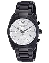 Emporio Armani Analog White Dial Men's Watch - AR1492
