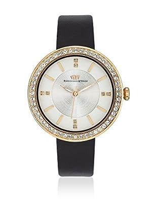 Rhodenwald & Söhne Uhr mit Japanischem Quarzuhrwerk 10010096 schwarz 38  mm