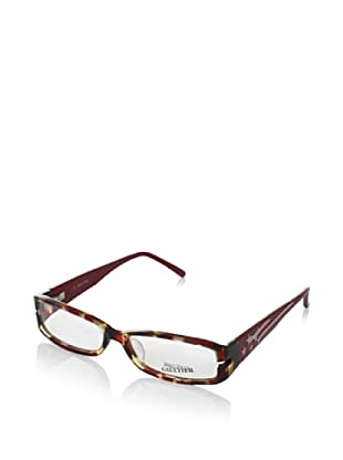 Jean Paul Gaultier Women's VJP 561 Eyeglasses, Red/Havana