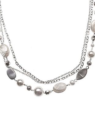 Sigris Collar Conchas (Plata nácar)