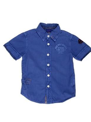 Naf Naf Chevignon Camisa Parche (índigo)