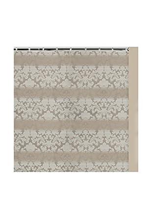 Creative Bath Monaco Shower Curtain, Tan/White