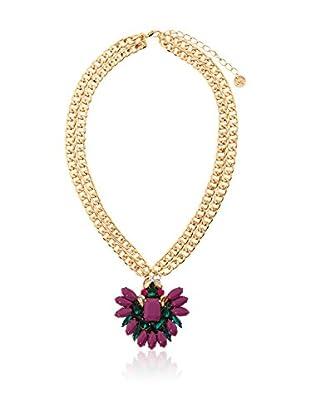 MAIOCCI Collar Dorado / Ciclamen