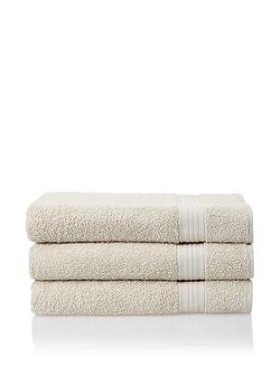 Savannah by Chortex 3 Piece Bath Sheet Set, Linen