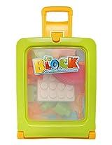 Comdaq 29 Pieces Stroller Box Blocks, Multi Color
