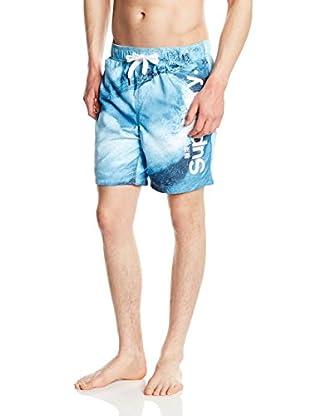 Superdry Shorts da Bagno Premium Print