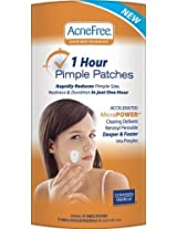 AcneFree 1 Hour Pimple Patches (4 patches 1 activator)