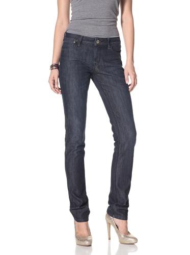 DL 1961 Premium Denim Women's Coco Curvy Slim Straight Leg Jeans (Riviera)