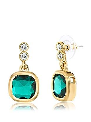Saint Francis Crystals Ohrhänger Made with Swarovski® Elements gelbvergoldet