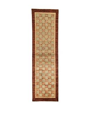 Design Community By Loomier Teppich Bamiyan braun 85 x 299 cm