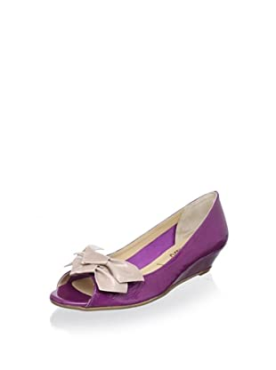 Butter Women's Gander Double-Knot Flat (Orchid/Blush)