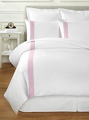 Bella Letto Doppio Duvet Set (White/Pink)