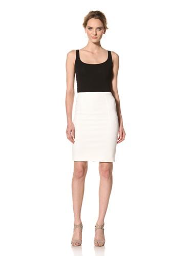 Les Copains Women's White Label Skirt (White)