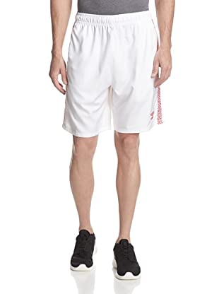 Umbro Men's Aztec Stripe Soccer Short (White)