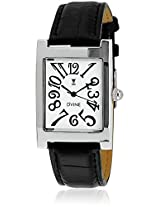 DD3066WT01 Black/White Analog Watch Dvine