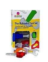 Rubbabu Tool Set (5 pcs.) for Kids