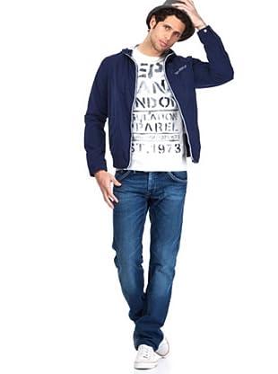 Pepe Jeans Jacke Ramos (Marineblau)