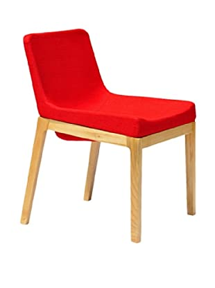 International Design USA Soho Dining Chair, Red