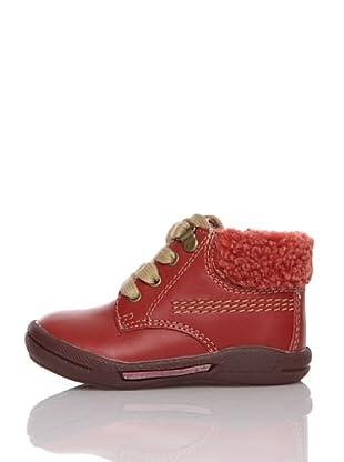 Billowy Botas Cordones (Rojo)