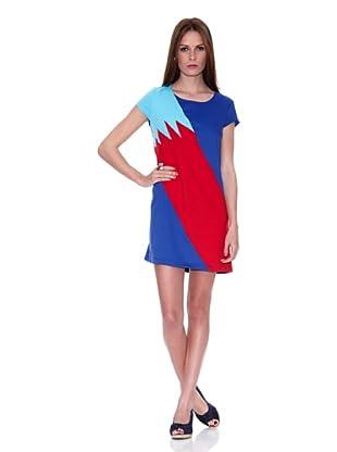 HHG Vestido Ornella (Azul / Rojo)