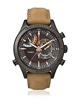 TIMEX Quarzuhr Man Intelligent Chrono-Timer hellbraun 46 mm