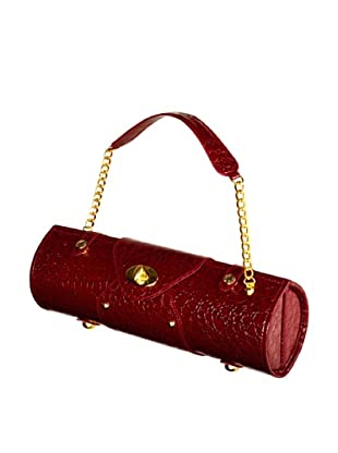 Picnic at Ascot Wine-Carrier Purse (Burgundy)