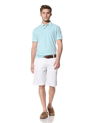 Tailor Vintage Men's Reversible Short (Sky Seersucker/Sky Pistachio)