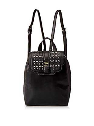 Danielle Nicole Women's Athens Backpack, Black/White