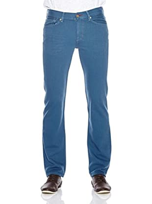7 For All Mankind Pantalón Vaquero Slim (Azul)