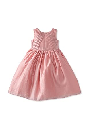 Pippa & Julie Girl's Pleated Bodice Dress (Pink)