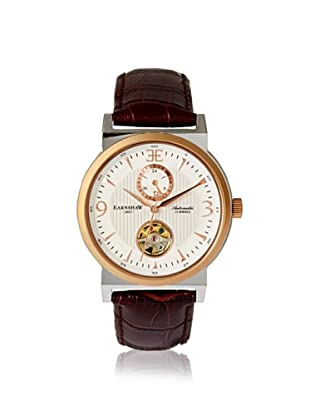 Earnshaw Men's 8012-04 Providence Brown/White Stainless Steel Watch