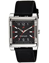 Fastrack Essentials Black Leather Analog Men Watch - 3040SL02