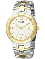 Citizen Analog Watch-For Men-Silver Gold-BK2324-78A
