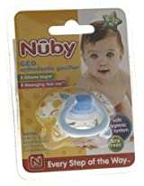 Nuby Orthodontic Pacifier (Color May Vary)