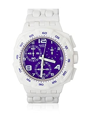 Swatch Quarzuhr Man PURPLEPURITY SUIW404 42.0 mm